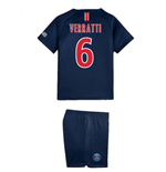 2018-2019 PSG Home Nike Little Boys Mini Kit (Verratti 6)