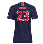 2018-2019 PSG Home Nike Womens Football Shirt (Draxler 23)