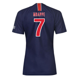 2018-2019 PSG Home Nike Womens Football Shirt (Mbappe 7)