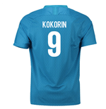 2018-19 Zenit St Petersburg Home Shirt (Kokorin 9) - Kids