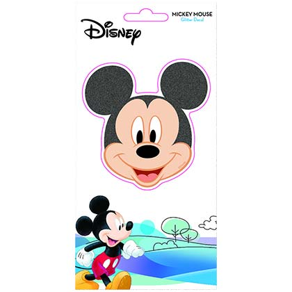DISNEY Mickey Mouse Glitter Window Sticker Decal