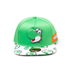 Super Mario - Yoshi EVA Molded Screen Print Novelty Snapback Cap