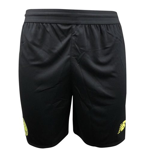 2018-2019 Celtic Elite Knitted Training Shorts (Black)