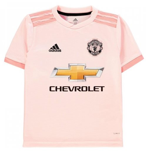 2018-2019 Man Utd Adidas Away Football Shirt (Kids)