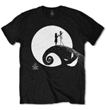 The Nightmare Before Christmas Men's Tee: Moon