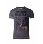 Star Wars - The Empire Strikes Back Classic Chewie Print Men's T-shirt