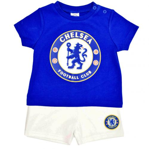 Chelsea F.C. T Shirt & Short Set 6/9 mths