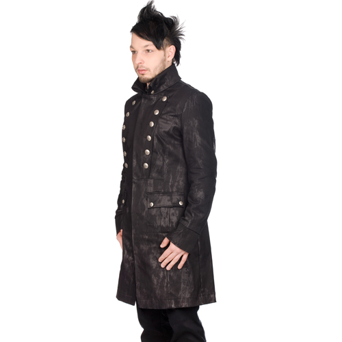 Aderlass Admiral Coat Art Denim