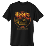 The Doors Men's Tee: 68 Retro Circle