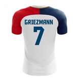 2018-19 France Away Concept Shirt (Griezmann 7) - Kids