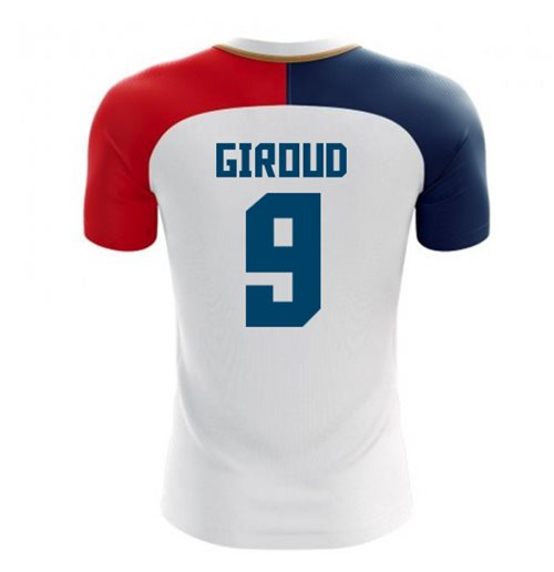 2018-19 France Away Concept Shirt (Giroud 9) - Kids
