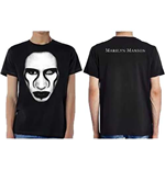Marilyn Manson Men's Tee: Defiant Ones (Ex Tour/Back Print)