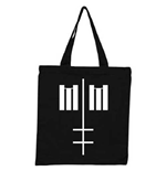 Marilyn Manson Tote Bag: Cross Logo (Ex Tour)