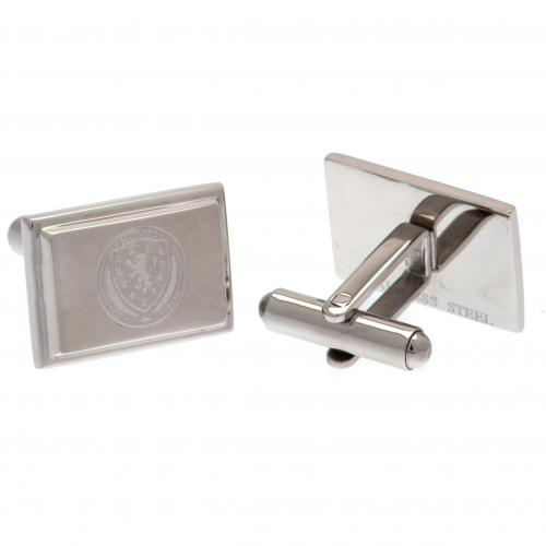 Scotland F.A. Stainless Steel Cufflinks
