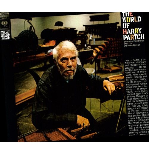 Vynil Harry Partch - World Of Harry Partch