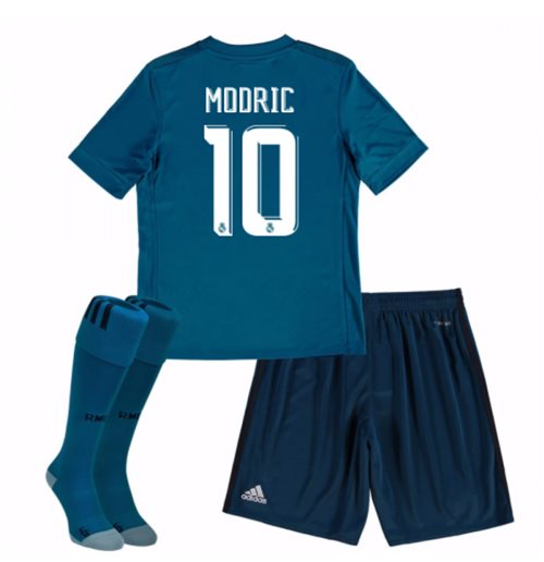 online store 49a89 0dd9c 2017-18 Real Madrid Third Mini Kit (Modric 10)