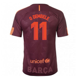 2017-18 Barcelona Nike Third Shirt (O Dembele 11) - Kids