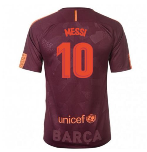 2017-18 Barcelona Nike Third Shirt (Messi 10) - Kids