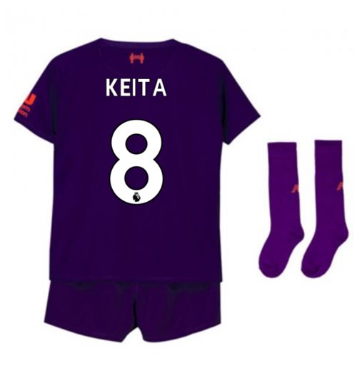 2018-2019 Liverpool Away Little Boys Mini Kit (Keita 8)