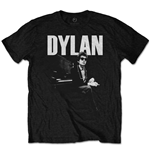 Bob Dylan Men's Tee: At Piano