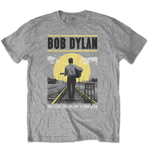 Bob Dylan Men's Tee: Slow Train