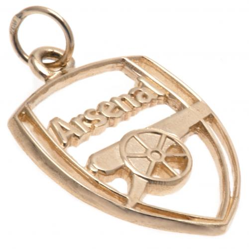 Arsenal F.C. 9ct Gold Pendant Crest