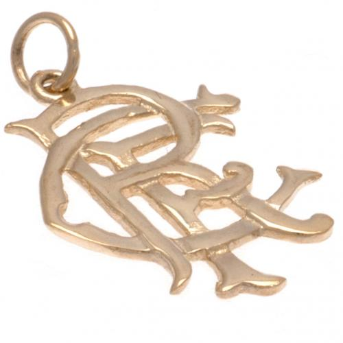 Rangers F.C. 9ct Gold Pendant Large