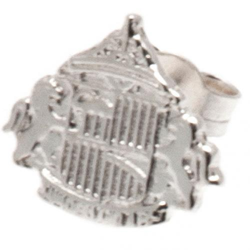 Sunderland A.F.C. Sterling Silver Stud Earring
