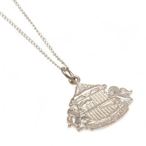 Sunderland A.F.C. Sterling Silver Pendant & Chain