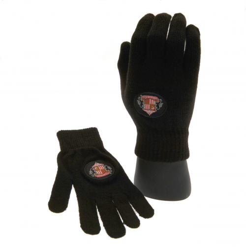 Sunderland A.F.C. Knitted Gloves Junior