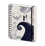 Nightmare before Christmas Wiro Notebook A5 Spiral Hill