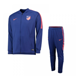 2018-2019 Atletico Madrid Nike Squad Knit Tracksuit (Royal Blue)