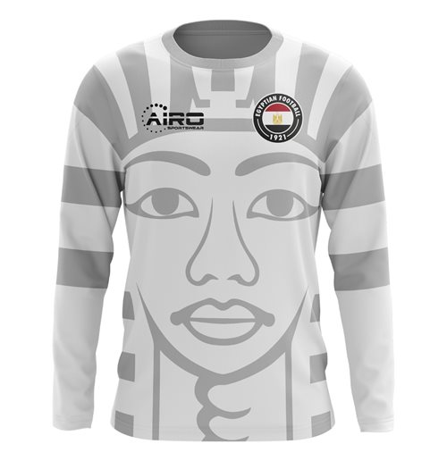 2018-2019 Egypt Long Sleeve Away Concept Football Shirt