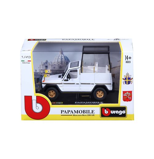 Pope Francis Diecast Model 316988