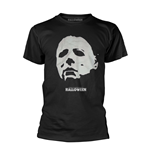 Halloween T-shirt Michael Face