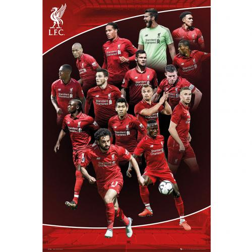 Cheapest Harley Davidson >> Official Liverpool F.C. Poster Players 23: Buy Online on Offer