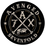 Avenged Sevenfold Back Patch: A7X