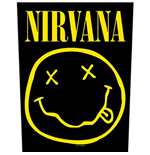 Nirvana Back Patch: Smiley