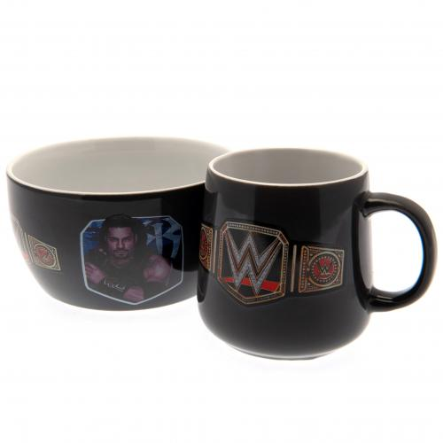 WWE Breakfast Set
