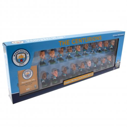 Manchester City F.C. SoccerStarz Premier League Winners Team Pack