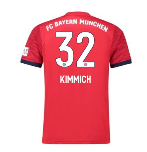 2018-2019 Bayern Munich Adidas Home Football Shirt (Kimmich 32)