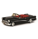 BUICK CENTURY 2 DOOR CONVERTIBLE BLACK 1954