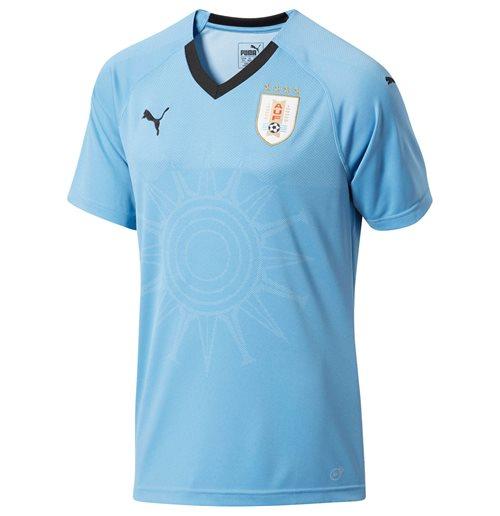 cheap for discount 8c470 89644 2018-2019 Uruguay Home Puma Football Shirt (Kids)