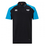 2018-2019 Ospreys Rugby Performance Cotton Polo Shirt (Anthracite)