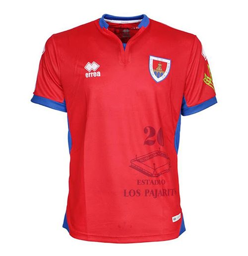 2018-2019 Numancia Errea Home Football Shirt