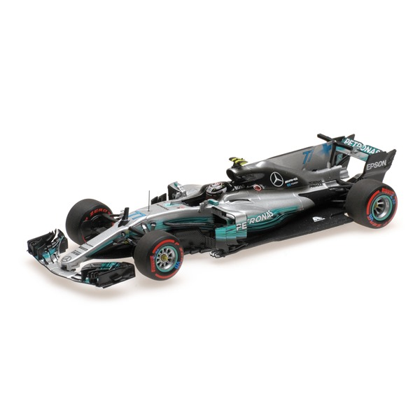 MERCEDES W08 VALTTERI BOTTAS 2ND MEXICAN GP 2017