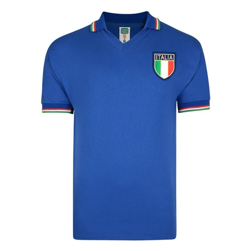 Score Draw Italy 1982 World Cup Final Shirt