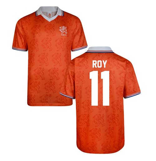 Score Draw Holland World Cup 1994 Home Shirt (Roy 11)