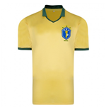Score Draw Brazil 1986 World Cup Final shirt