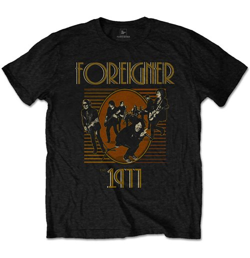 Foreigner Men's Tee: Est' 1977